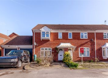 Thumbnail 3 bed end terrace house for sale in Edward Road, Windlesham, Surrey