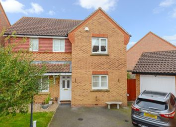 Thumbnail 4 bed detached house for sale in Wood Lane, Park Farm, Ashford