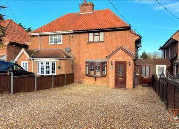 Thumbnail 3 bed semi-detached house for sale in Minters Cottages, Harwich Road, Wix, Manningtree