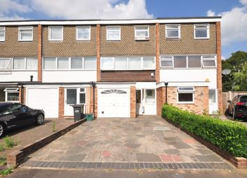 Thumbnail 4 bed town house to rent in Knighton Close, South Croydon