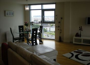 Thumbnail 3 bed flat to rent in Penthouse, Bute Terrace, Cardiff