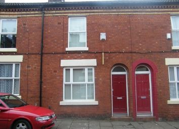 Thumbnail 2 bed terraced house to rent in Wells Street, Wavertree, Liverpool