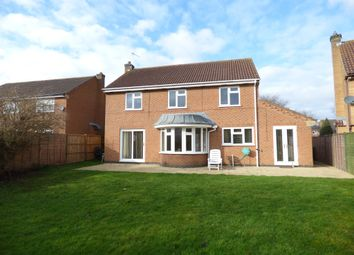 Thumbnail 4 bed detached house for sale in Robin Close, Oakham