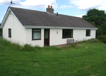 Thumbnail 3 bed bungalow to rent in Walterstone, Herefordshire