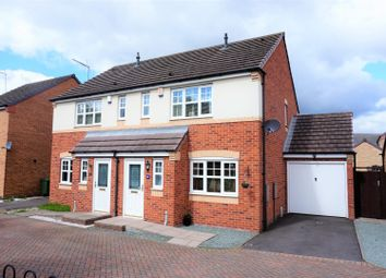 Thumbnail 3 bed semi-detached house for sale in Nuthatch Close, Cannock