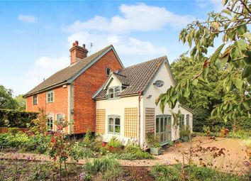 Thumbnail 3 bed semi-detached house for sale in Harleston Road, Linstead, Halesworth, Suffolk