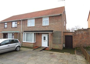 Thumbnail 3 bed semi-detached house for sale in Pinewood Road, Upton, Poole