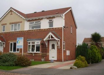 Thumbnail 3 bedroom semi-detached house for sale in Bridgegate Drive, Victoria Dock, Hull