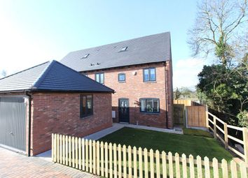Thumbnail 4 bed semi-detached house for sale in Chebsey Court, Windmill Lane, Ladbroke, Southam