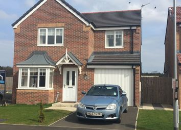 Thumbnail 4 bed detached house for sale in Kirkharle Crescent, Ashington