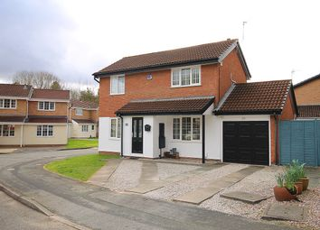 Thumbnail 3 bed detached house for sale in Ellesworth Close, Old Hall, Warrington
