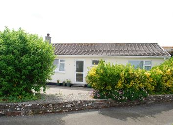 Thumbnail 3 bed detached bungalow for sale in Chyventon Close, St. Buryan, Penzance