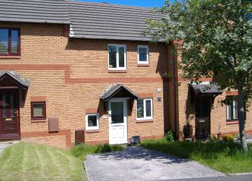 Thumbnail 2 bed terraced house to rent in 26 St Davids Close, Brackla, Bridgend, Mid. Glamorgan.