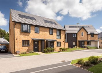 "Thumbnail 3 bedroom semi-detached house for sale in ""Waterville"" at Divot Way, Basingstoke"