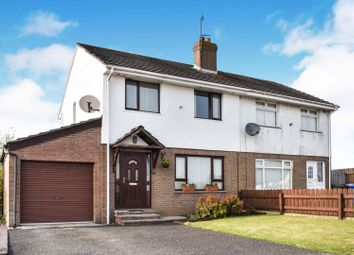 Thumbnail 3 bedroom semi-detached house for sale in Ashvale Heights, Stoneyford, Lisburn