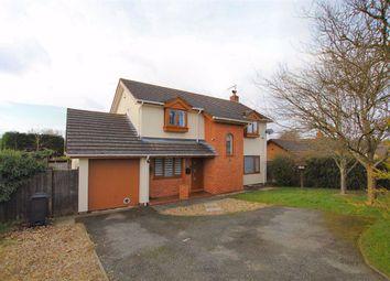 Thumbnail 4 bed detached house for sale in Bryn Cerrig, Lixwm, Flintshire