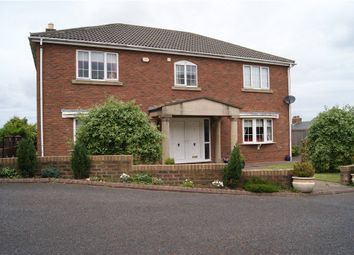 Thumbnail 4 bed detached house for sale in Palatine View, Sherburn Hill, Durham