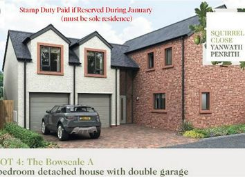 Thumbnail 4 bed detached house for sale in Plot 4 Squirrel Close, Yanwath, Penrith