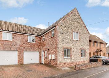 Thumbnail 4 bedroom semi-detached house for sale in Lime Kiln Lane, Thetford, Norfolk