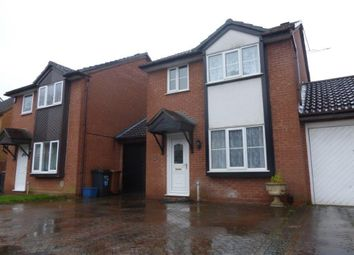 Thumbnail 3 bedroom detached house to rent in Longford Avenue, Little Billing, Northampton