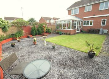 Thumbnail 4 bed detached house for sale in Rossetti Way, Billingham, Tees Valley