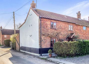 Thumbnail 2 bedroom end terrace house for sale in Mill Cottage, Mill Road, Banningham, Norwich
