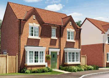 Thumbnail 3 bed semi-detached house for sale in Burton Road Tutbury, Staffordshire
