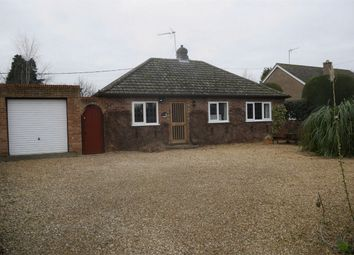 Thumbnail 3 bed detached bungalow for sale in New Road, Shouldham, King's Lynn