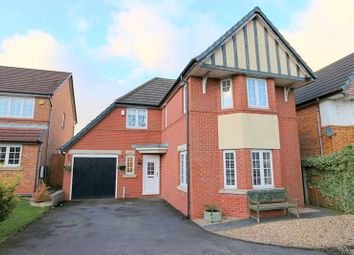 Thumbnail 4 bed detached house for sale in Charlestown Grove, Longton, Stoke-On-Trent