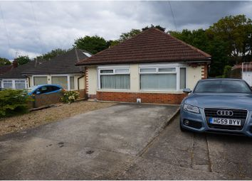 Thumbnail 4 bed detached bungalow for sale in Nutley Way, Bournemouth