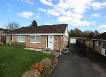 Thumbnail 2 bed semi-detached bungalow for sale in Pendre Gardens, Brecon