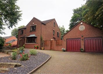 Thumbnail 4 bed detached house for sale in Roundwood Road, Ossett