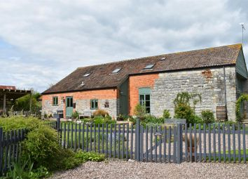 Thumbnail 5 bed detached house for sale in Meare Green, Stoke St. Gregory, Taunton