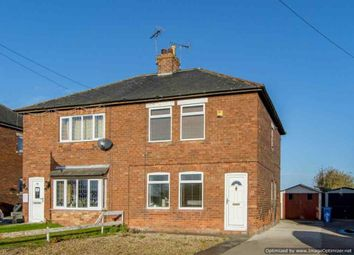 Thumbnail 2 bed semi-detached house for sale in Fox Covert Lane, Misterton, Doncaster