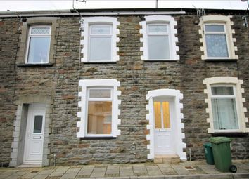 Thumbnail 3 bedroom terraced house for sale in Great Street, Trehafod, Pontypridd