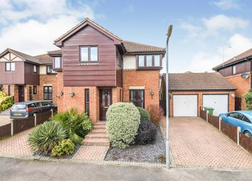 Thumbnail 4 bed detached house for sale in Forest Glade, Langdon Hills, Basildon