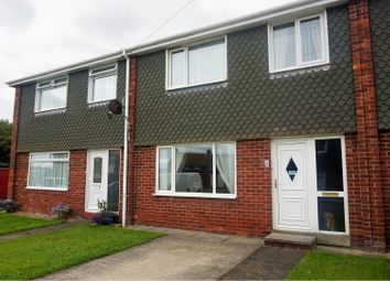 Thumbnail 3 bed terraced house for sale in Elwin Close, Whitley Bay