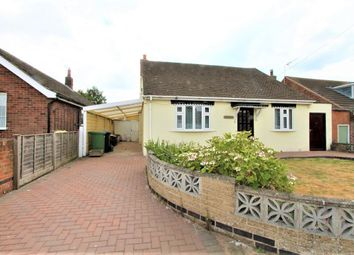 Thumbnail 2 bed bungalow for sale in Ingarsby Close, Houghton-On-The-Hill, Leicester