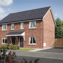 Thumbnail 2 bed semi-detached house for sale in The Singleton, Latrigg Road, Carlisle, Cumbria