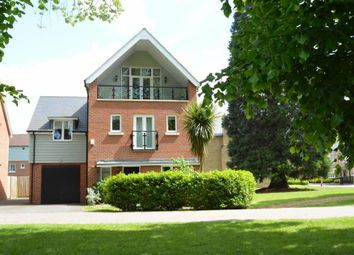 Thumbnail 5 bed detached house for sale in Redwood Drive, Epsom