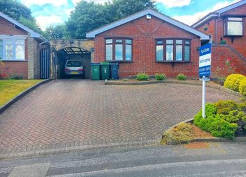 Thumbnail 2 bed bungalow for sale in Wyndmill Crescent, West Bromwich, West Midlands