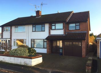 Thumbnail 4 bed semi-detached house to rent in Poplar Close, Eccleshall, Staffordshire