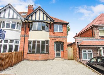 Thumbnail 3 bed semi-detached house for sale in Oakthorpe Avenue, Leicester