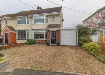 Thumbnail 3 bed semi-detached house for sale in Stretton Road, Wolston, Coventry