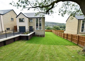 Thumbnail 4 bed detached house for sale in Dinting Road, Glossop