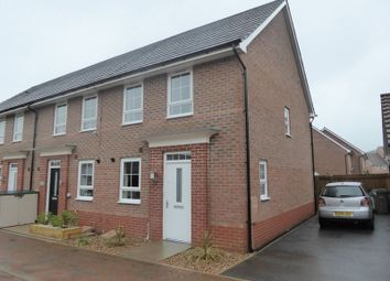 Thumbnail 3 bed terraced house to rent in Wisdom Close, Fernwood, Newark
