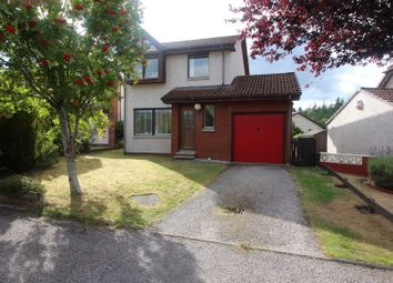 Thumbnail 3 bed detached house for sale in Mannachie Rise, Forres