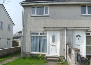 Thumbnail 2 bed semi-detached house for sale in Erskine Way, Shotts