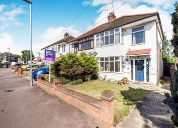 Thumbnail 3 bed semi-detached house for sale in Lincoln Avenue, Romford