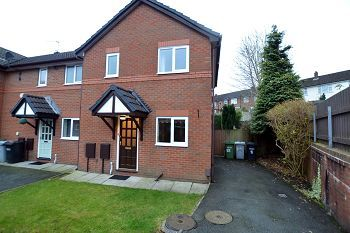 Thumbnail 2 bed end terrace house to rent in Coope Road, Bollington, Macclesfield